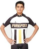 Triumph Firefox Printed Mens Round Neck Black T-Shirt