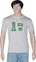 Tshirt.in Graphic Print Men's Round Neck Grey T-Shirt