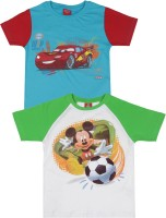 Disney Boys Printed T Shirt