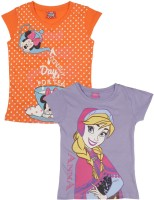 Disney Girls Printed T Shirt