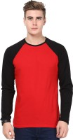 Izinc Solid Men's Round Neck Red T-Shirt