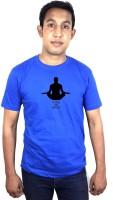SVX Printed Men's Round Neck Blue T-Shirt
