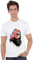 ShopMantra Graphic Print Mens Round Neck White T-Shirt