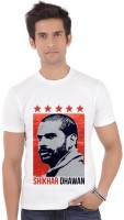 ShopMantra Graphic Print Men's Round Neck White T-Shirt