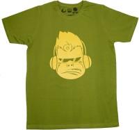 Udankhatola Printed Men's Round Neck Dark Green T-Shirt