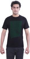 Tantra Graphic Print Men's Round Neck Black T-Shirt