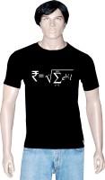 Tshirt.in Graphic Print Men Round Neck Black T-Shirt