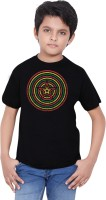 Tantra Boys Graphic Print T Shirt(Black, Pack of 1)