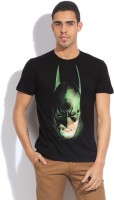 Batman Printed Mens Round Neck Black T-Shirt