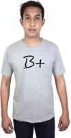 SVX Printed Men's Round Neck Grey T-Shirt