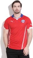 Puma Solid Men's Fashion Neck Red T-Shirt