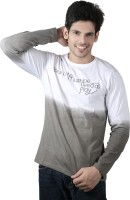 Spur Printed Mens Round Neck Multicolor T-Shirt