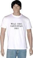 Tshirt.in Graphic Print Men Round Neck White T-Shirt