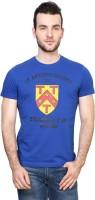 University of Oxford Printed Men's Round Neck Blue T-Shirt