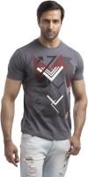 Cult Fiction Graphic Print Mens Round Neck Grey T-Shirt
