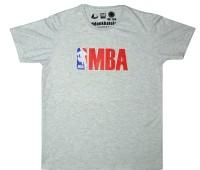 Udankhatola Printed Men's Round Neck Grey T-Shirt