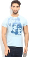 Pepe Jeans Graphic Print Mens Round Neck Light Blue T-Shirt