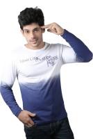 Spur Printed Men's Round Neck Multicolor T-Shirt