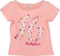Beebay Girls Printed T Shirt(Orange)