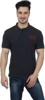 Imagica Solid Men's Round Neck Grey T-Shirt