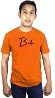 SVX Printed Men's Round Neck Orange T-Shirt