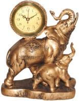 Divsam Analog Brown Clock