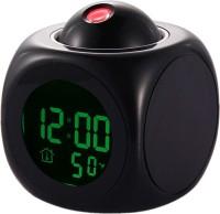 Tuelip Digital Black Clock