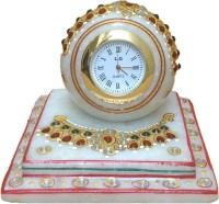 JaipurCrafts Analog Multicolor Clock