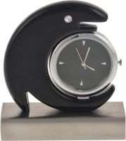 Neo Multi Services Analog Silver, Black Clock