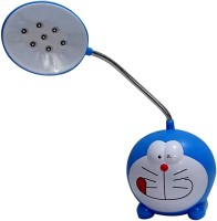AI Doraemon Table Lamp(5 cm, Blue)