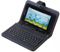 I Kall N2 with Keyboard 4 GB 7 inch with Wi-Fi+3G Tablet (Black)