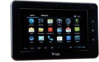 Champion Wtab 7.3 /Wtab 703 4 GB 7 inch with Wi-Fi+3G Tablet(Black)