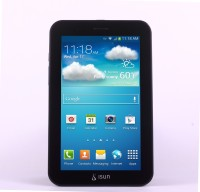 Isun ISN406 8 GB 7 inch with Wi-Fi+2G Tablet(Black)