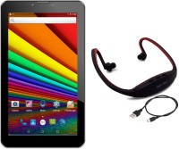 Unic N1 with Neckband 4 GB 7 inch with Wi-Fi+3G Tablet(White)