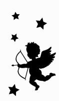 Smilendeal T1956 Angel Temp Body Tattoo(Angel)