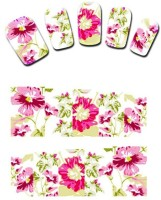 SENECIO� 3D Hibiscus Water Transfer Nail Tattoo(Floral) - Price 99 75 % Off