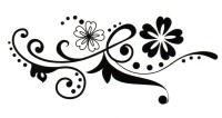 Smilendeal T1586 Removeable Temp Body Tattoo - Her Style(Her)
