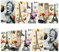 SENECIO� Retro Lady Printed Design Temporary Nail Tattoo(Retro) - Price 119 70 % Off