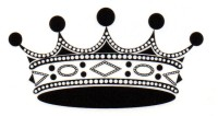 Smilendeal T1572 Removeable Temp Body Tattoo - Crown Style(Crown)