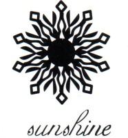 Smilendeal T1801 Removeable Temp Body Tattoo - Sunshine Style(Sunshine)