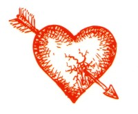 Smilendeal T1913 Red Heart Temp Body Tattoo(Red Heart)