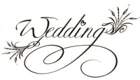 Smilendeal T1534 Removeable Temp Body Tattoo - Wedding Style(Wedding)