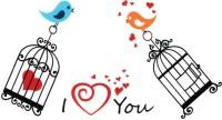 Smilendeal T1837 Love Temp Body Tattoo(Love)