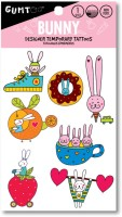 Gumtoo Bunny - Designer Temporary Tattoos(Easter, Bunny, Rabbit) - Price 60 52 % Off