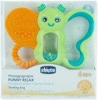 Chicco Funny Relax Teether Teether(Orange, Green)