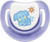 Pigeon Pacifier Step - 2 (Elephant) BPA Free(Purple)