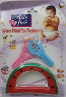 LOVE BABY Auto Flow Water Filled Toy Teether - Watermelon Teether(Multicolor)