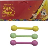 LOVE BABY Baby Teether Pk of 3 Teether(Multicolor)