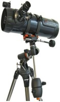 CELESTRON AstroMaster 114EQ Reflecting Telescope(Manual Tracking)