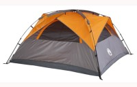 Coleman Instant Dome 3 Tent - For 3 Persons(Orange, Grey)